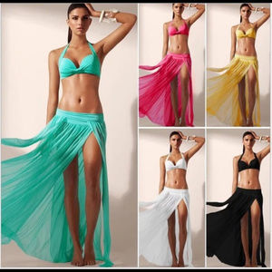 Other - Beach Coverups in 5 colors